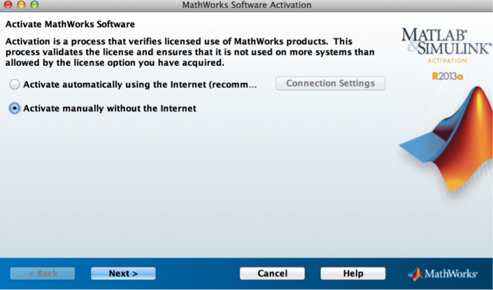 Activate MATLAB Software without the Internet