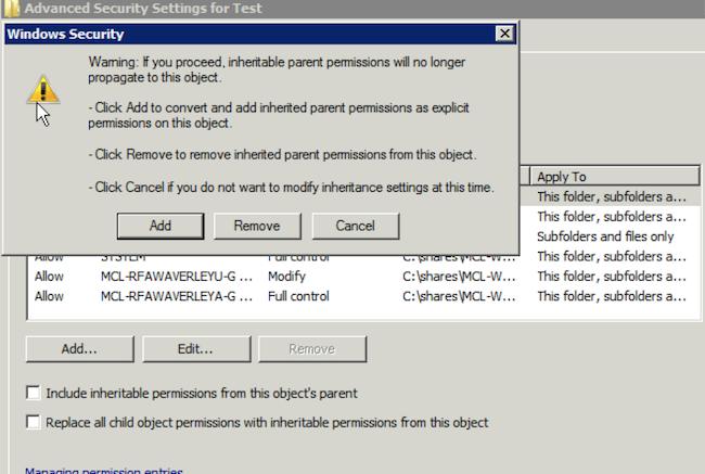 RFA Folder Missions